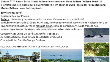 Hotel Resort y Spa Cristal Ballena