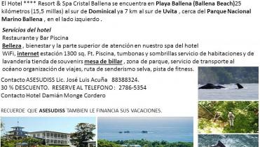 Hotel Resort y Spa Cristal Ballena