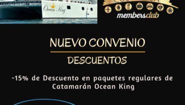 Catamarán Ocean King