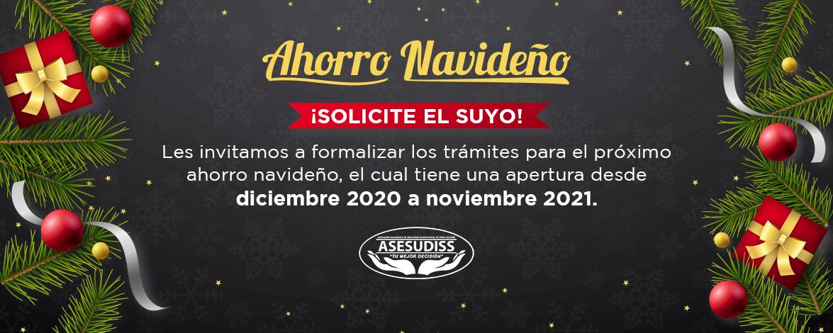 Ahorro navideño 2020-2021